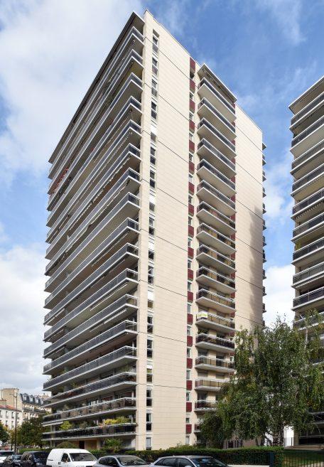Housing building in Paris