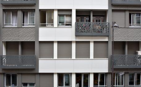Ponthieu Street housing block, Paris