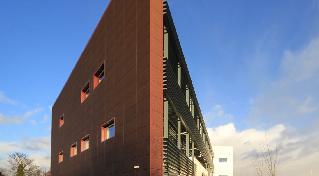 Liverpool Kays Medical hospital rainscreen cladding