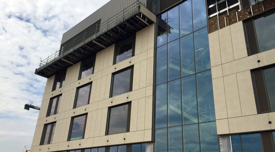 Location: Northampton,  Architect: Leach Rhodes Walker,  Construction type: new build,  Installation system: wall cladding with subframe (CWS),  Products: SHELL