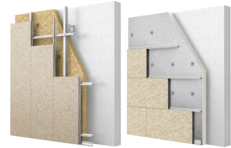 Carea Grooved cladding panels
